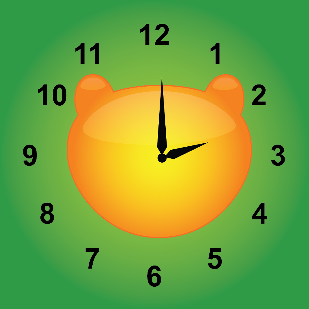 Jungle Time - learn how to tell time icon