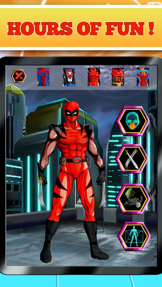 Create Your Own Superhero - Free Hero Character Costume Maker Dress Up Game screenshot ...  sc 1 st  AppRecs & Create Your Own Superhero - Free Hero Character Costume Maker Dress ...