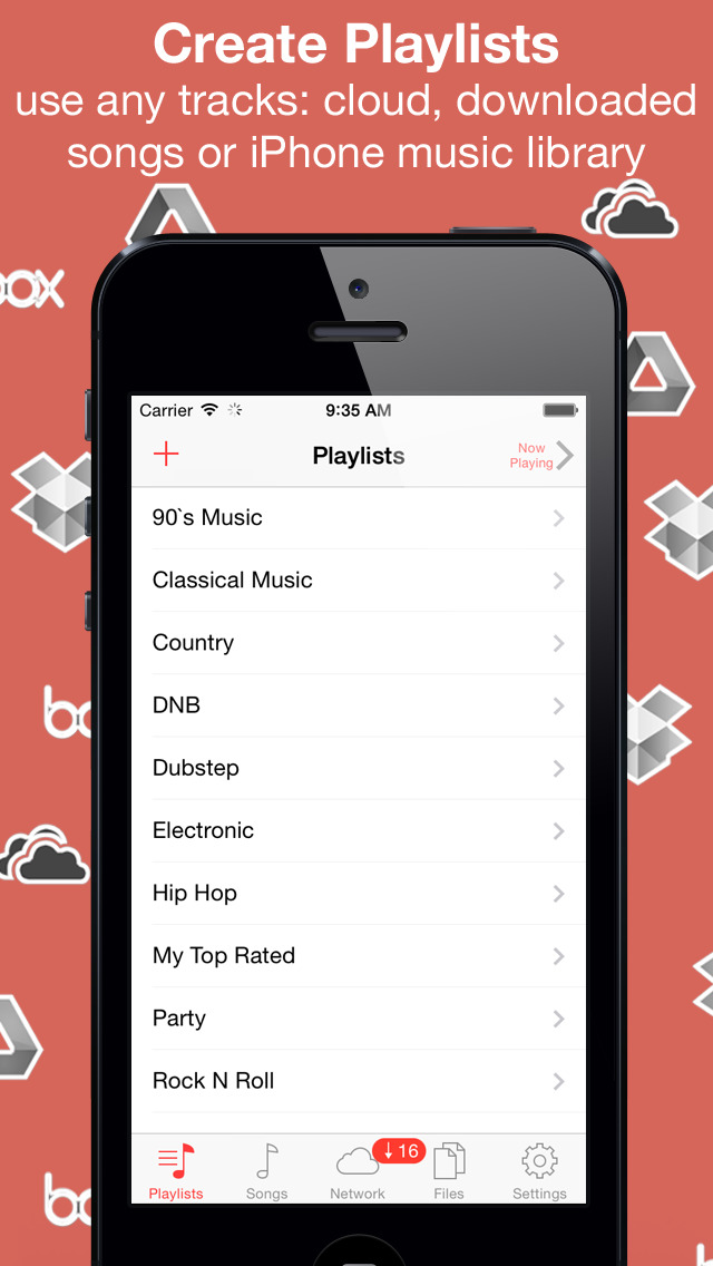 Download Eddy - cloud music player & downloader, audio books