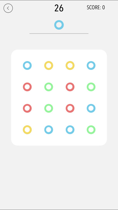 TappingDots Screenshot on iOS