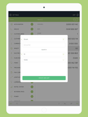 Amount - Unit and Currency Converter Screenshot