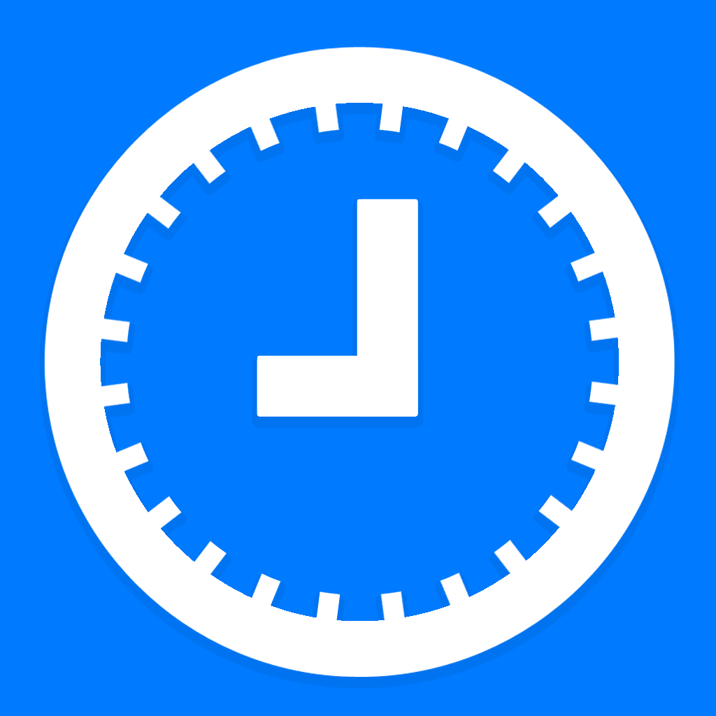 On Time - A simple time management tool icon