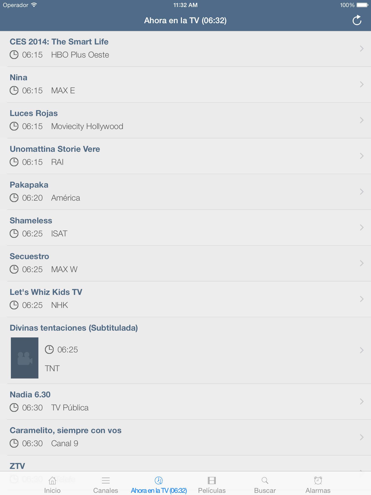 Televisión Argentina (versión iPad) screenshot-3