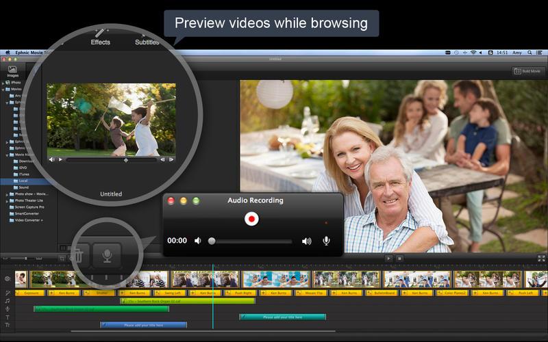 Apple movie maker software