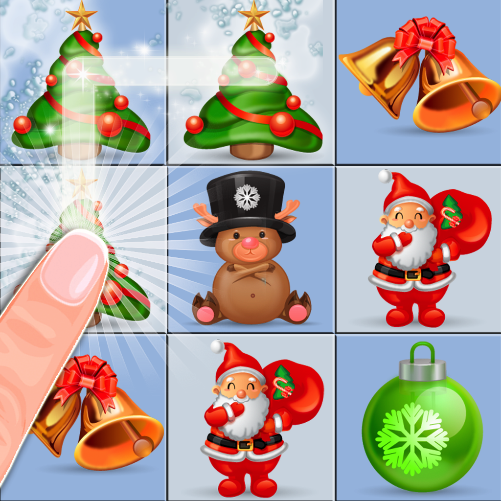 Xmas Swipe - Match the Christmas Dots