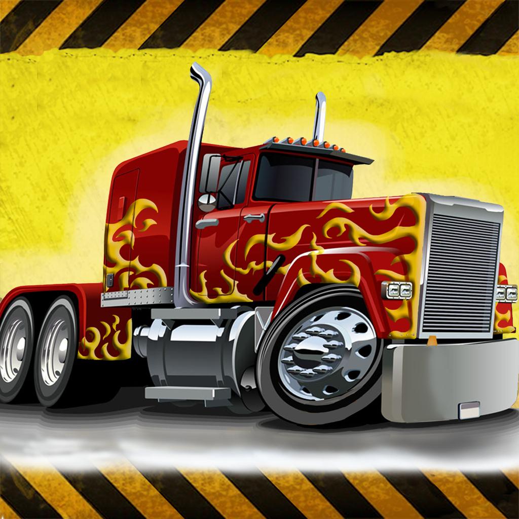 3D Semi Truck Parking - Real Trucker Driving School Simulator Vehicles Games