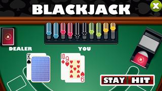 Aaron Super Slots - Roulette and Blackjack 21 FREE! Screenshot on iOS