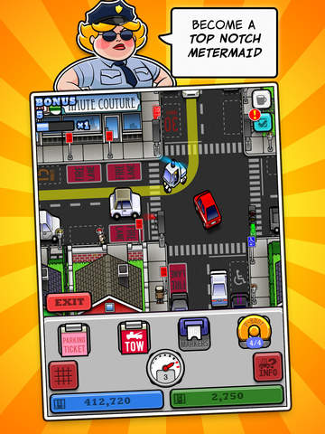 Meter Maid City! Screenshot