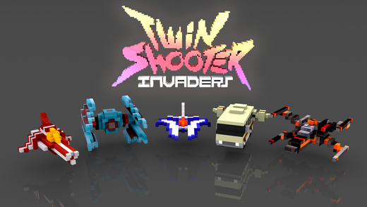 Twin Shooter - вторжение Screenshot