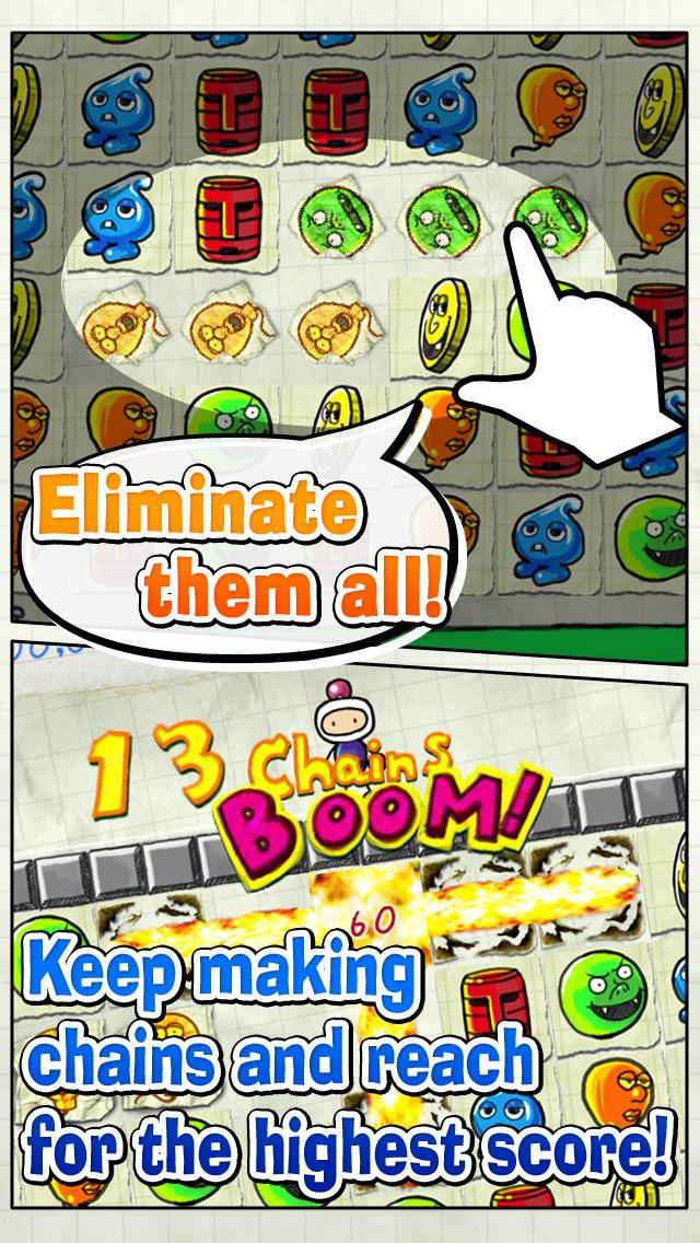Bomberman Chains