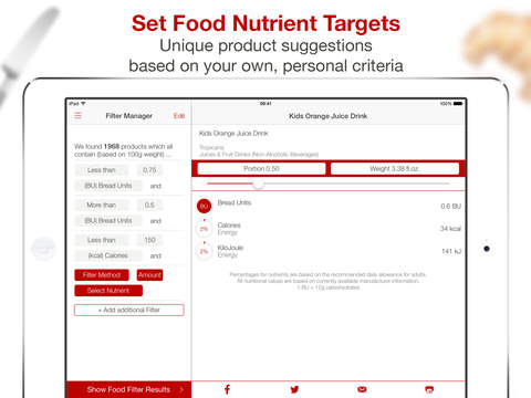 Bread Units Calculator Low Carb Food Exchange List For Diabetes