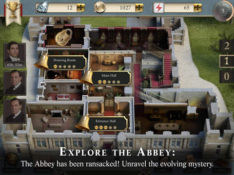 Downton Abbey: Mysteries of the Manor-ipad-2