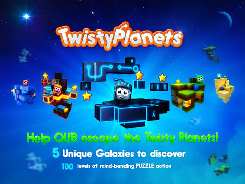 Twisty Planets Screenshot