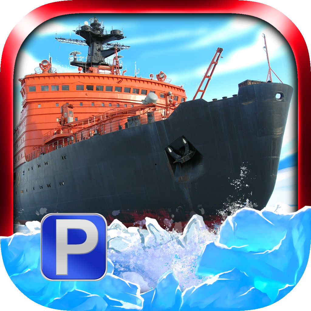 'Arctic Boat Parking PRO - Full Ice Breaker Ship Driving Game Version