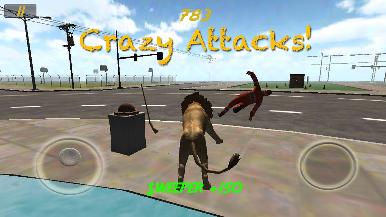 Animal Rampage - Lion Attack
