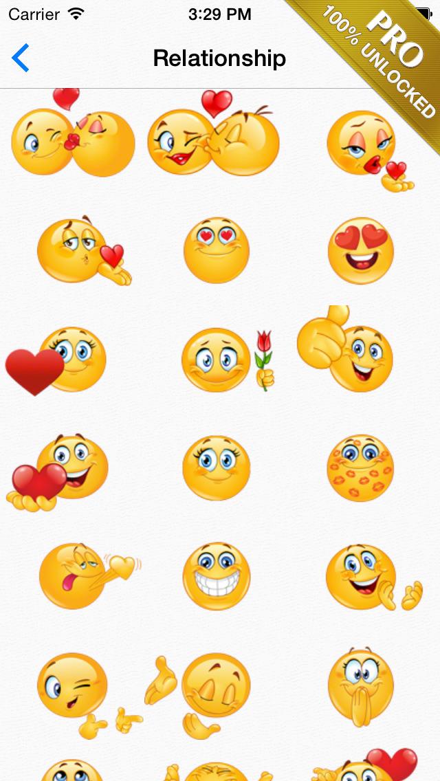 Adult Text Symbols