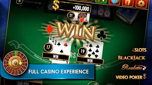 Double down casino black screen
