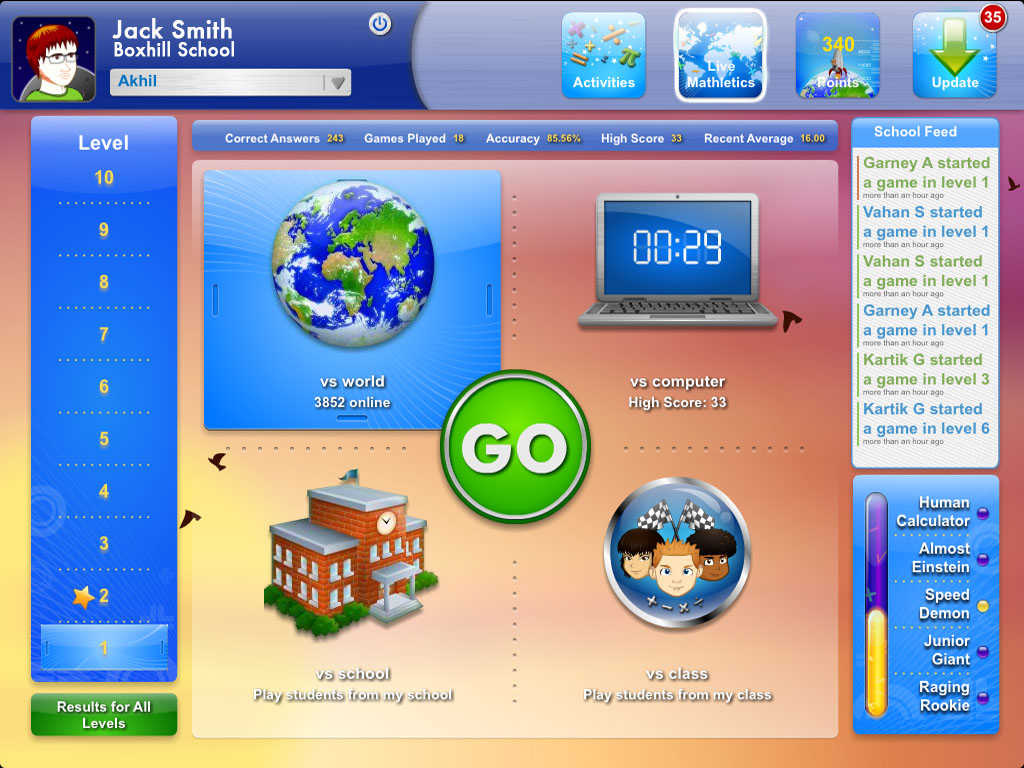 Mathletics Student screenshot-4