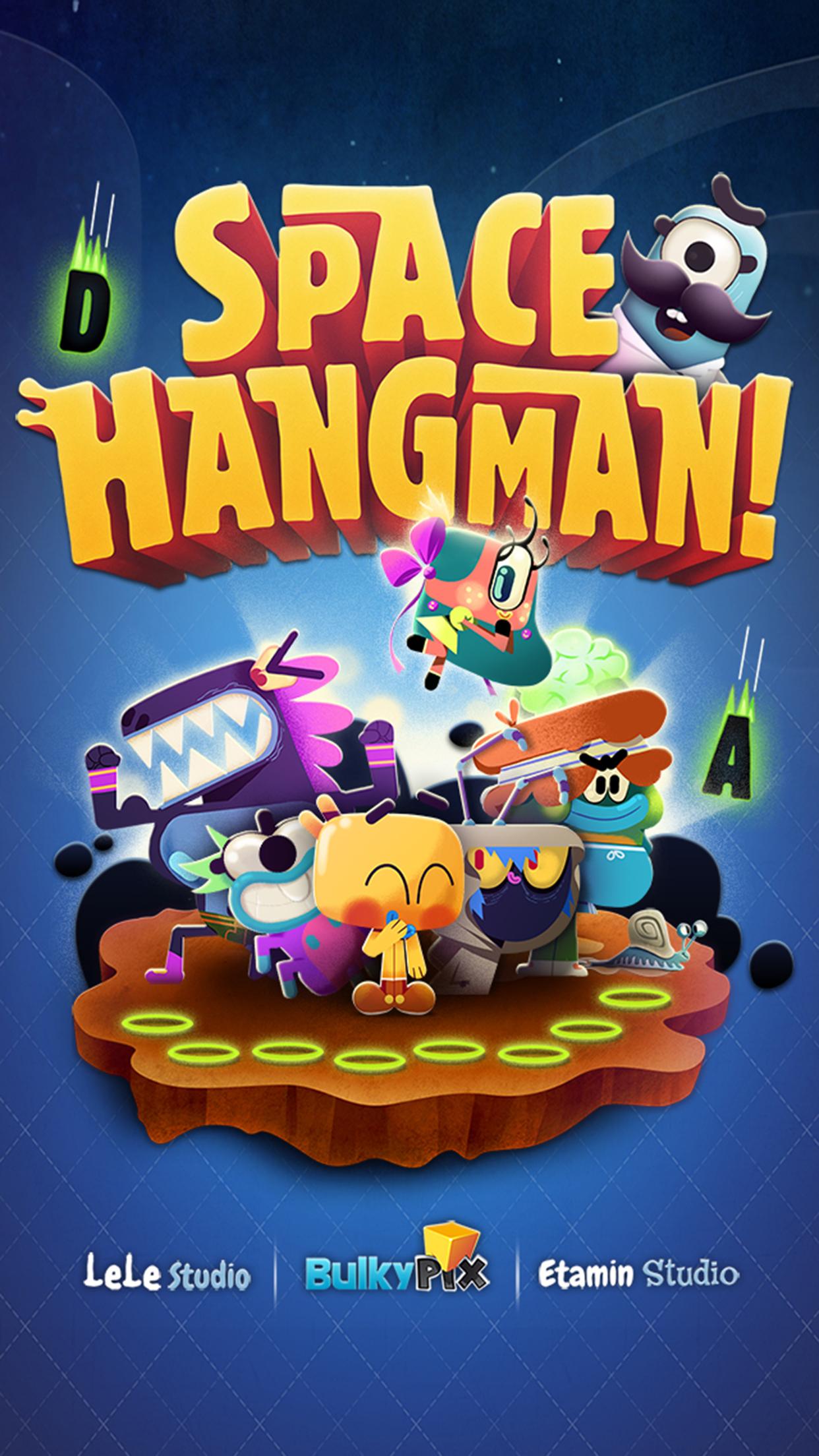 Space Hangman: Aliens Go Crazy