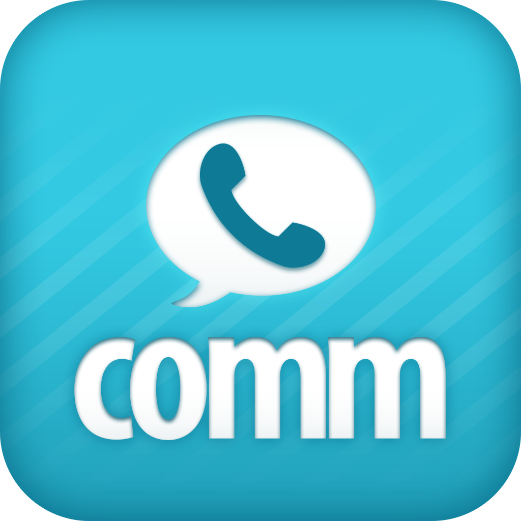 Comm: Free calls, texts and fun! icon
