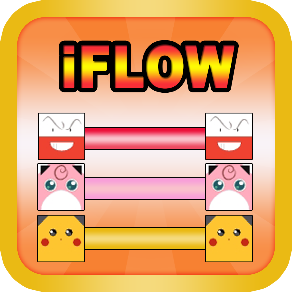 iFlow Monster Avatar : Free Flow Puzzle for Connect The Colour Pokemon For Every One