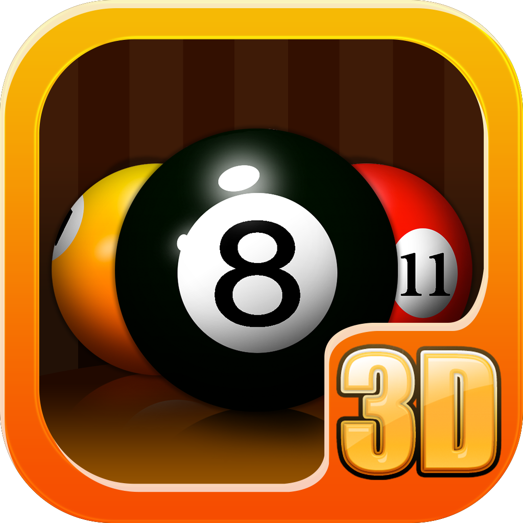 Pool 3D HD icon