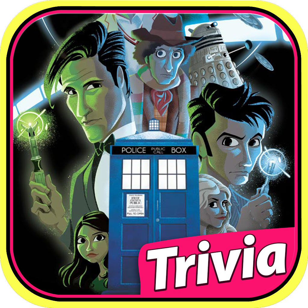 Addictive Trivia Quiz: Doctor Who Legacy Episodes Edition icon