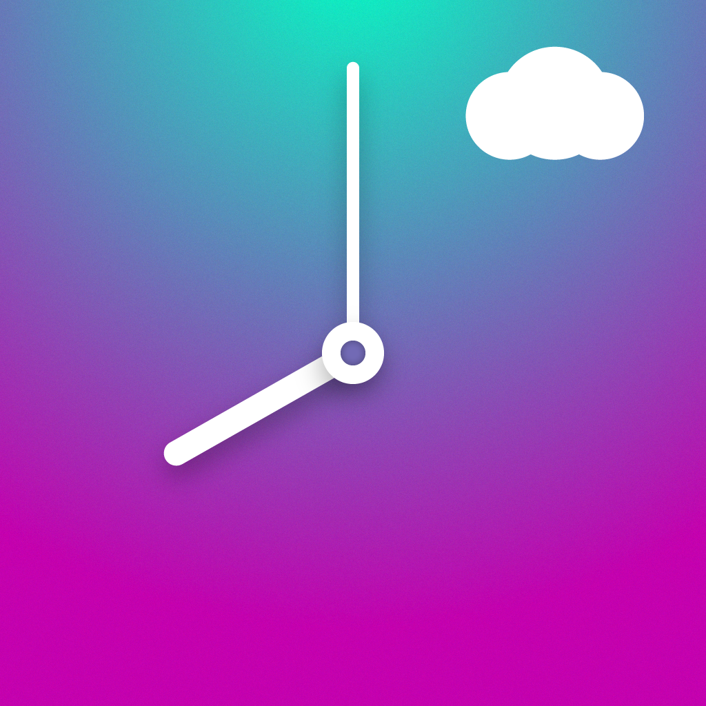 Climate Clock - Minimal Hourly World Weather Forecast