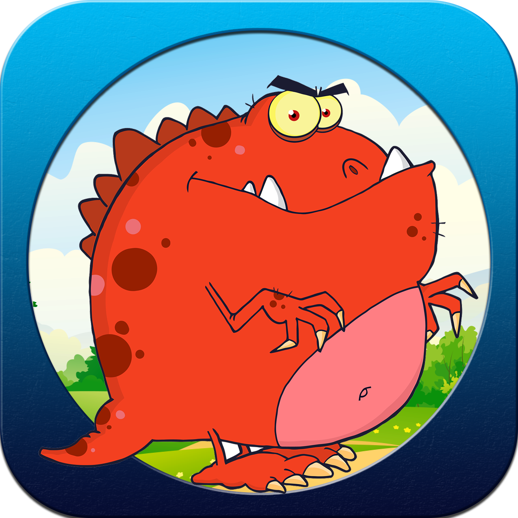Crazy Dinosaur Splat Pop Puzzle - Full Version
