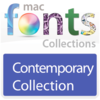11 款現代型字體 MacFonts-ContemporaryFonts for Mac