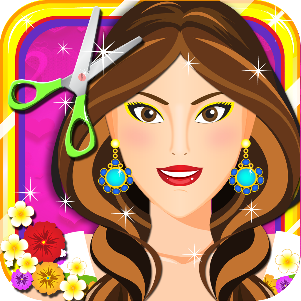 Ace Holiday Hair Makeover Salon - Free Kids Games for Girls