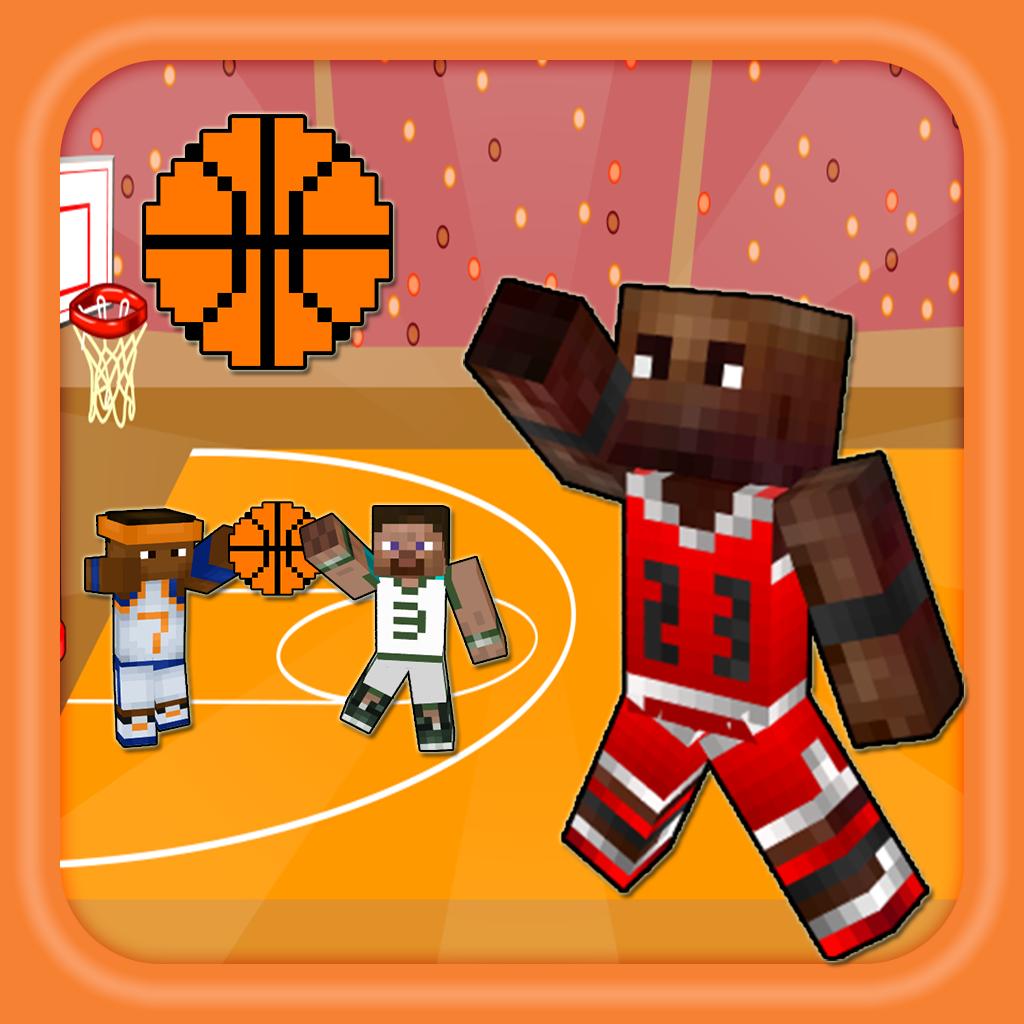 Basketball Hero Skin Finding NBA Ball - Block Craft World Edition