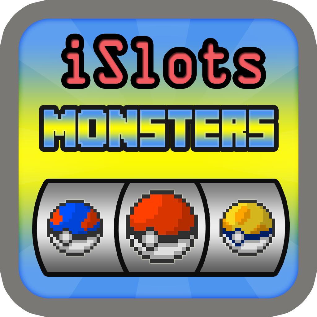 iSolts Pixel Monsters Version ( Party Slot Machine Pokemon Puzzle Monster Edition )