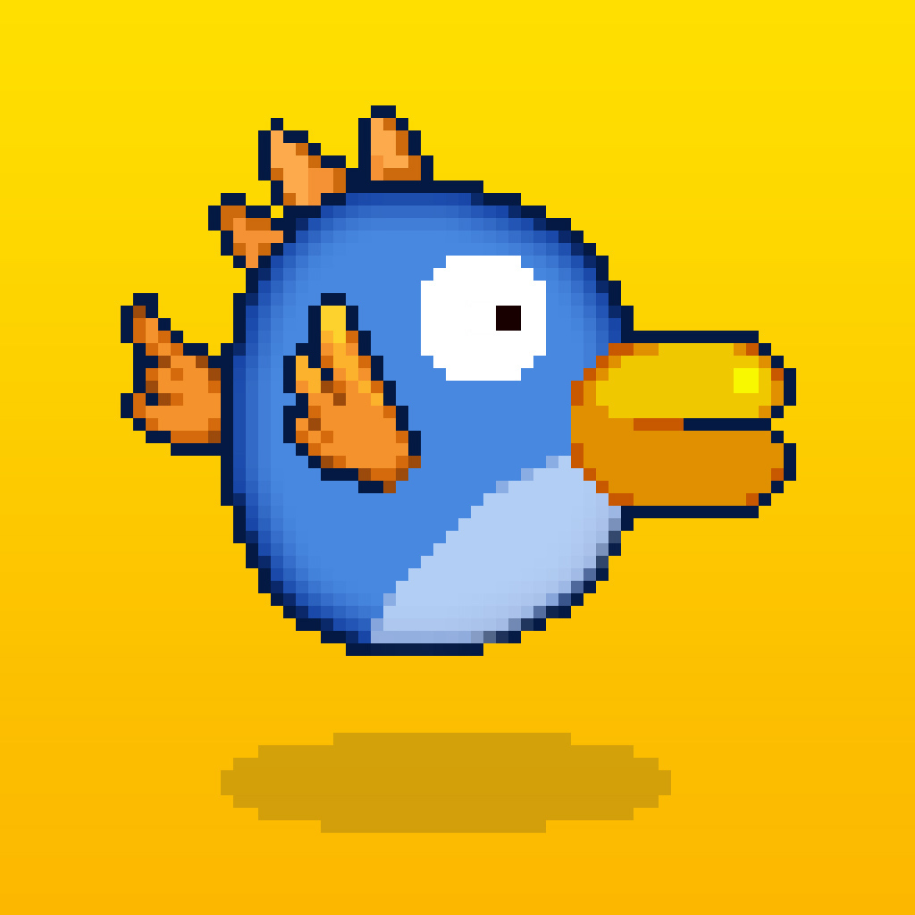 Grabby Bird — Flappy Bird Flyer