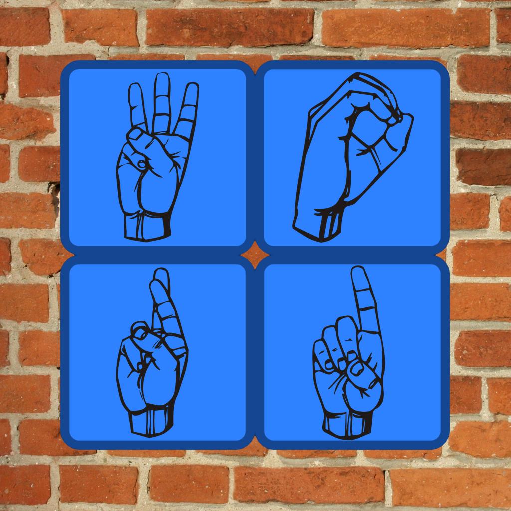 ASL Word Cascade