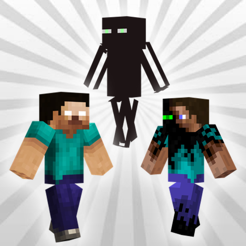 Herobrine and Enderman Skins for Minecraft :: iOS App :: NuApps