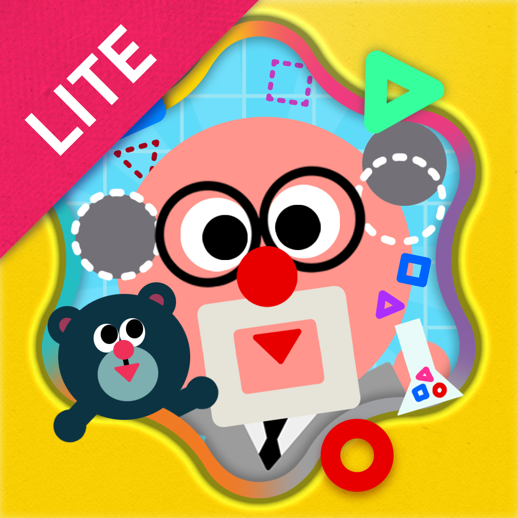 Shape the Village Lite - Interactive Introduction on Circle, Triangle and Square for Kids