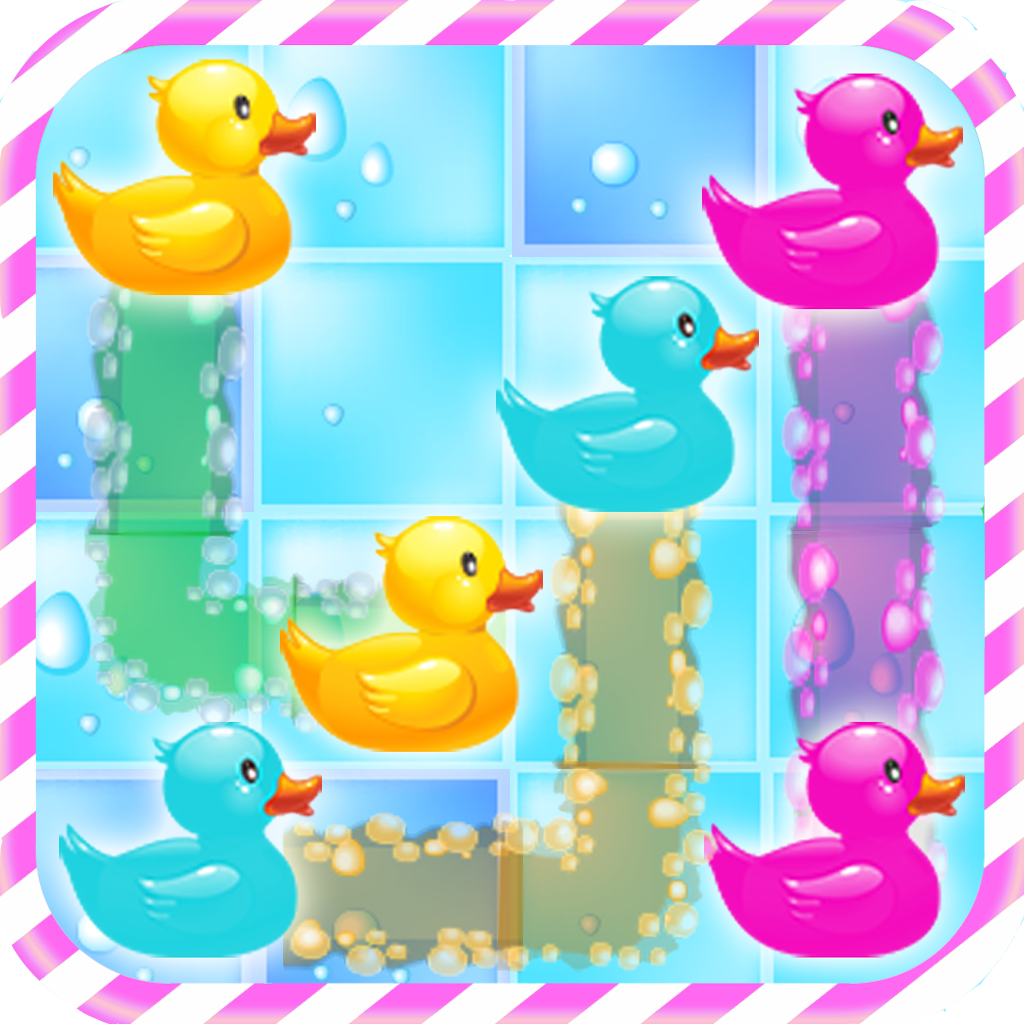 Bubble Bath Flow - Connect the Rubber Duck!