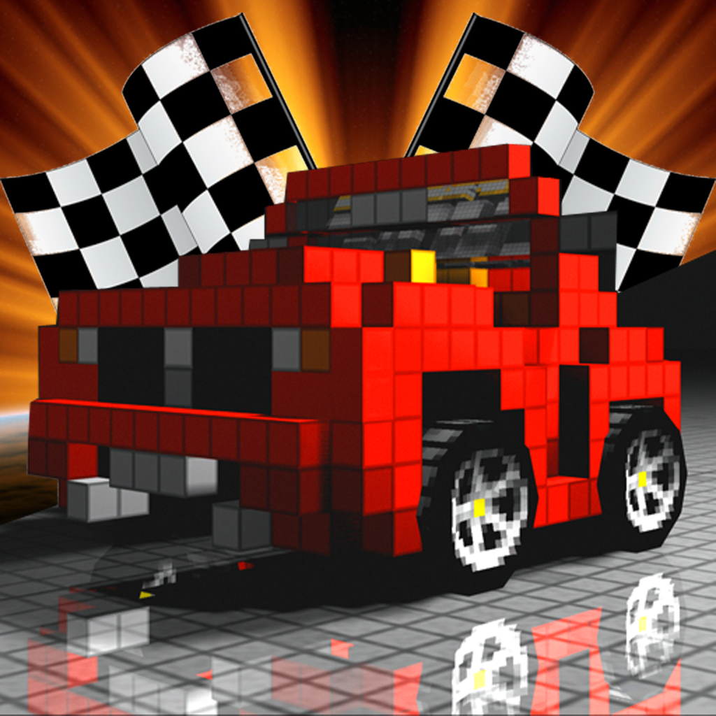 Minecraft And Blocky Racing Pixel Deadly Roads Design Your Own