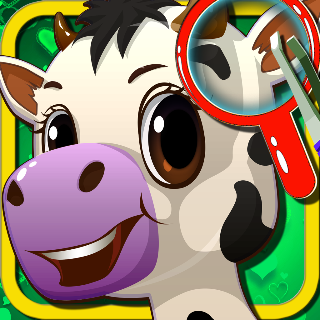 Animal Pet Ear Doctor - Free Kids Games for Girls and Boys