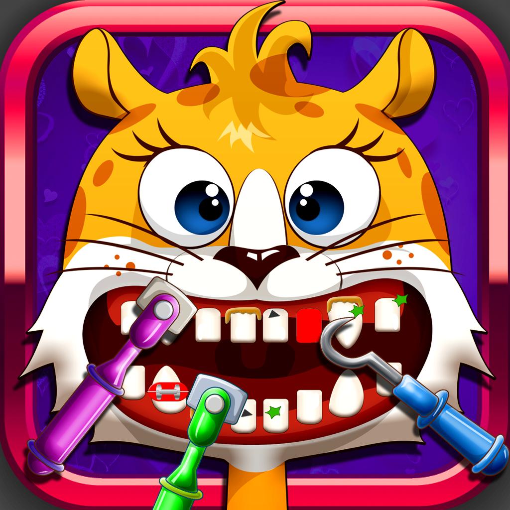 Animal Pet Vet Dentist Makeover Mania - Games for Boys and Girls