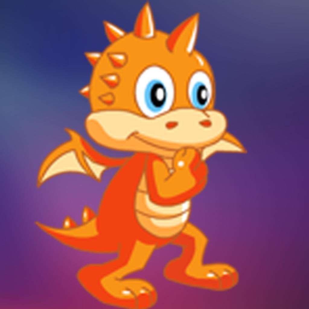 Cute Kids Dragon Fruit Jump