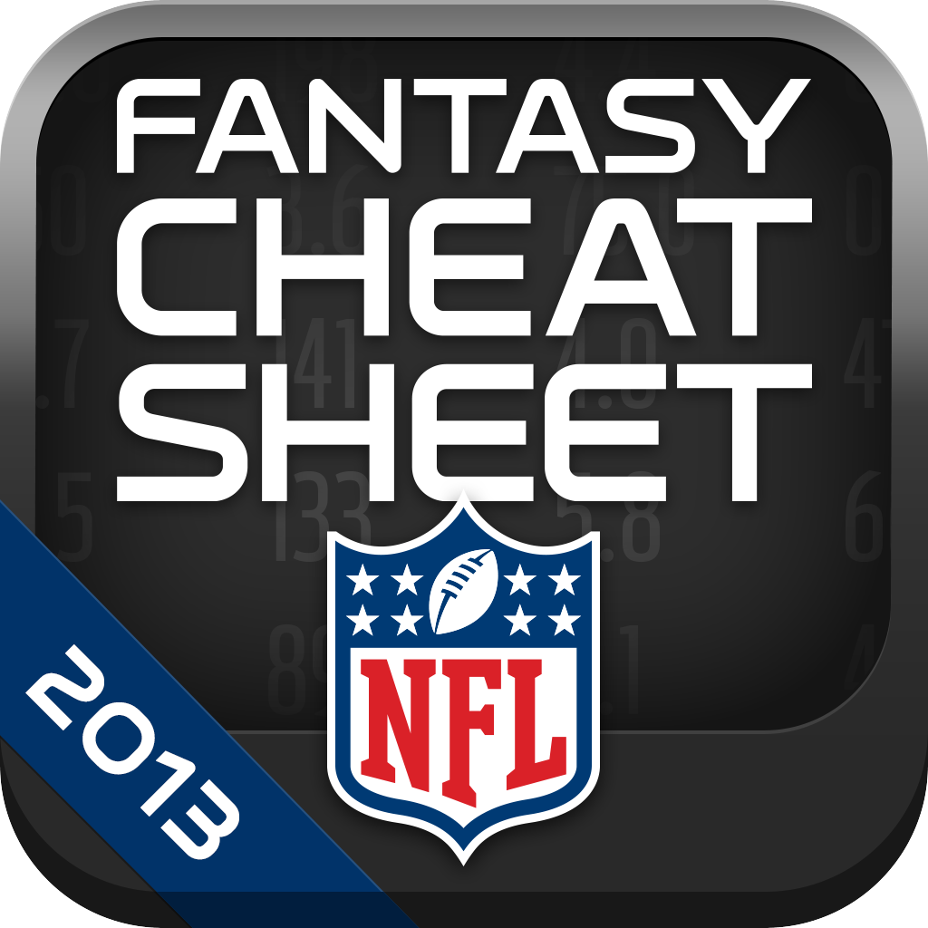 234d8c6c601 NFL Fantasy Football Cheat Sheet & Draft Kit 2013 - Revenue ...