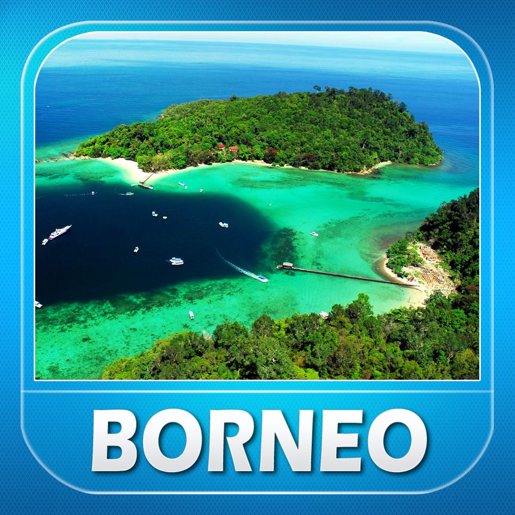 Borneo Island: Borneo Island Offline Travel Guide By Sarath Vella