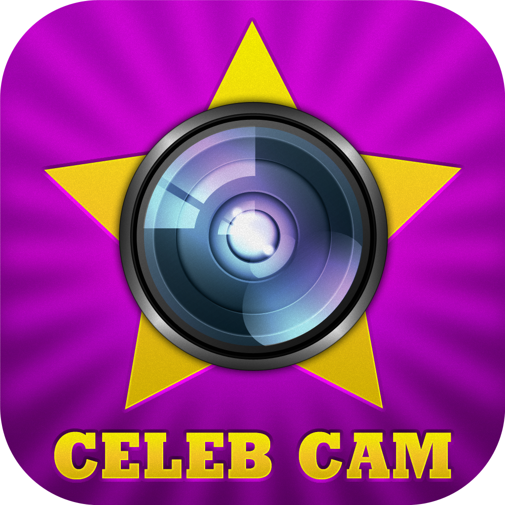 Celeb Cam: Movie Stars as Live Camera Effects + Photo Booth