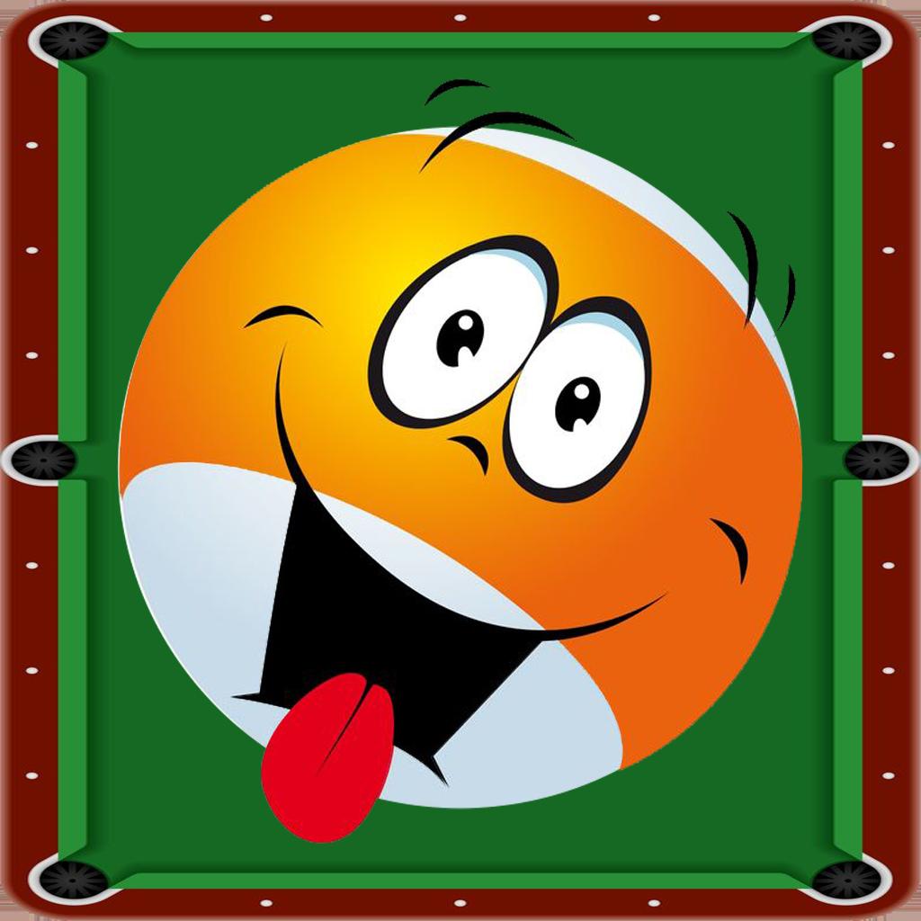 Bubble Snooker Fun Face