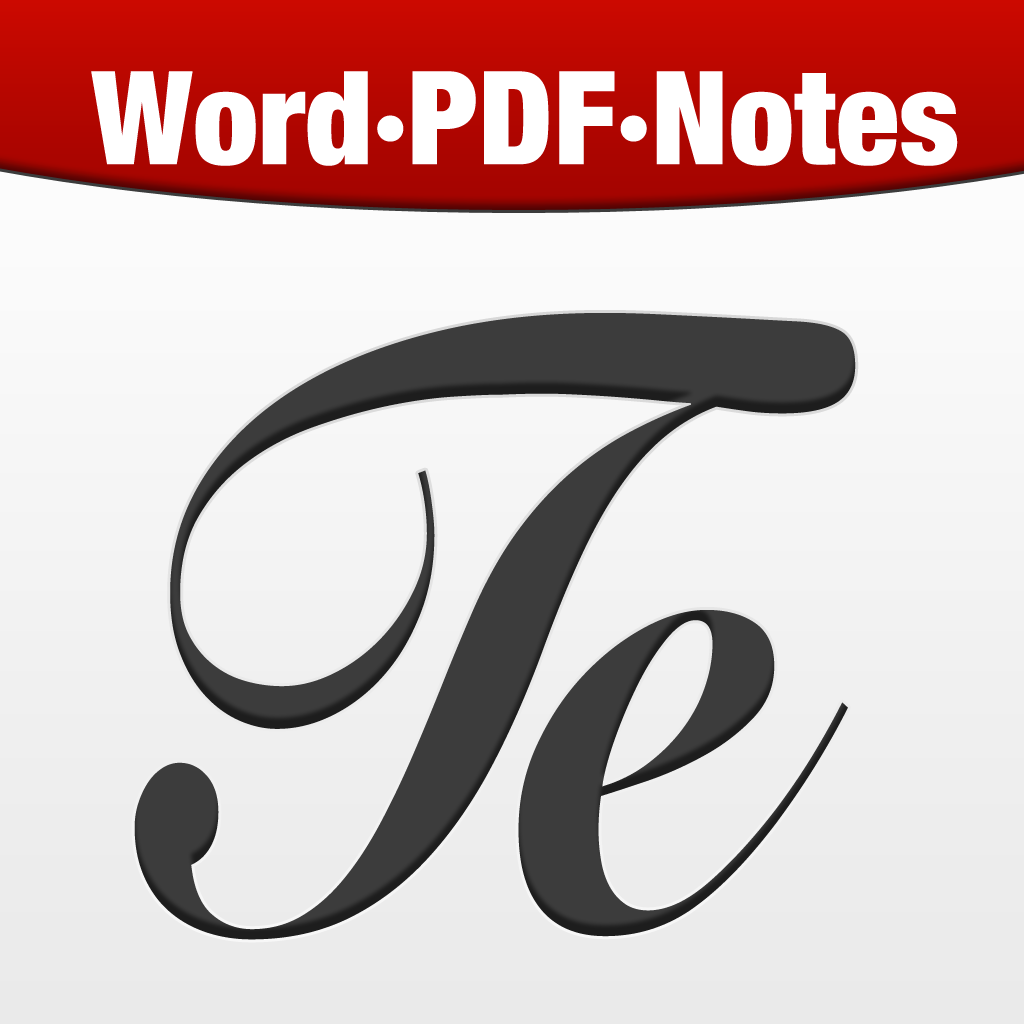 Textilus Word Processor - Notes & PDF