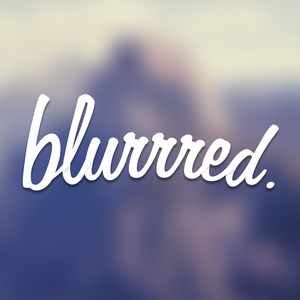 blurrred. - Blur Your Wallpapers For iOS7