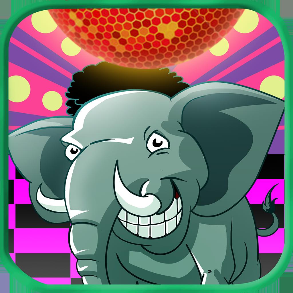 Retro Elephant Dentist  - April Fools Day Disco (HD Kids Game)