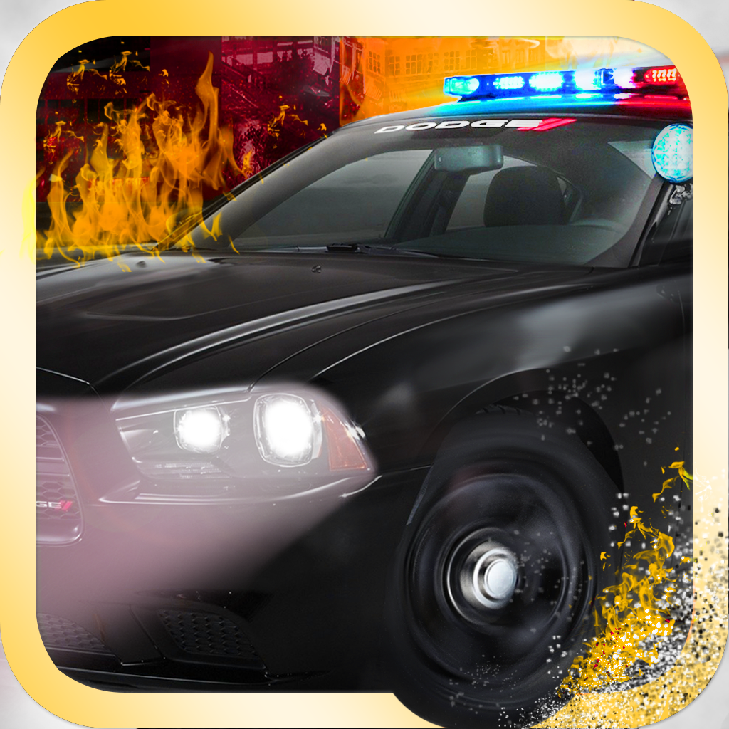 Night Police Chase - Smash Crash and Burn Free